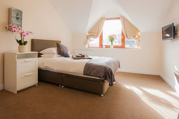 Banbury Lodge Bedroom view