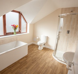 banbury lodge bathroom view
